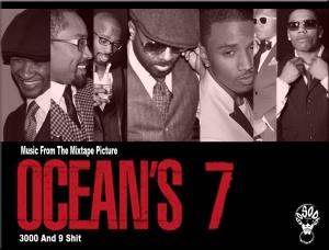 OCEAN'S SEVEN MIXTAPE COVER