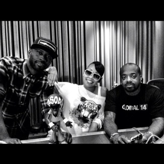 In The Studio: Me x @MONICAMYLIFE x @JERMAINEDUPRI